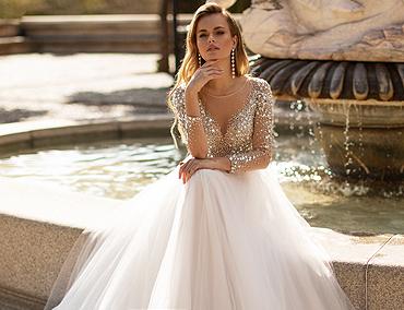 855b3dd54eef351 √ Свадебные платья — фото, цены | Купить свадебное платье ...