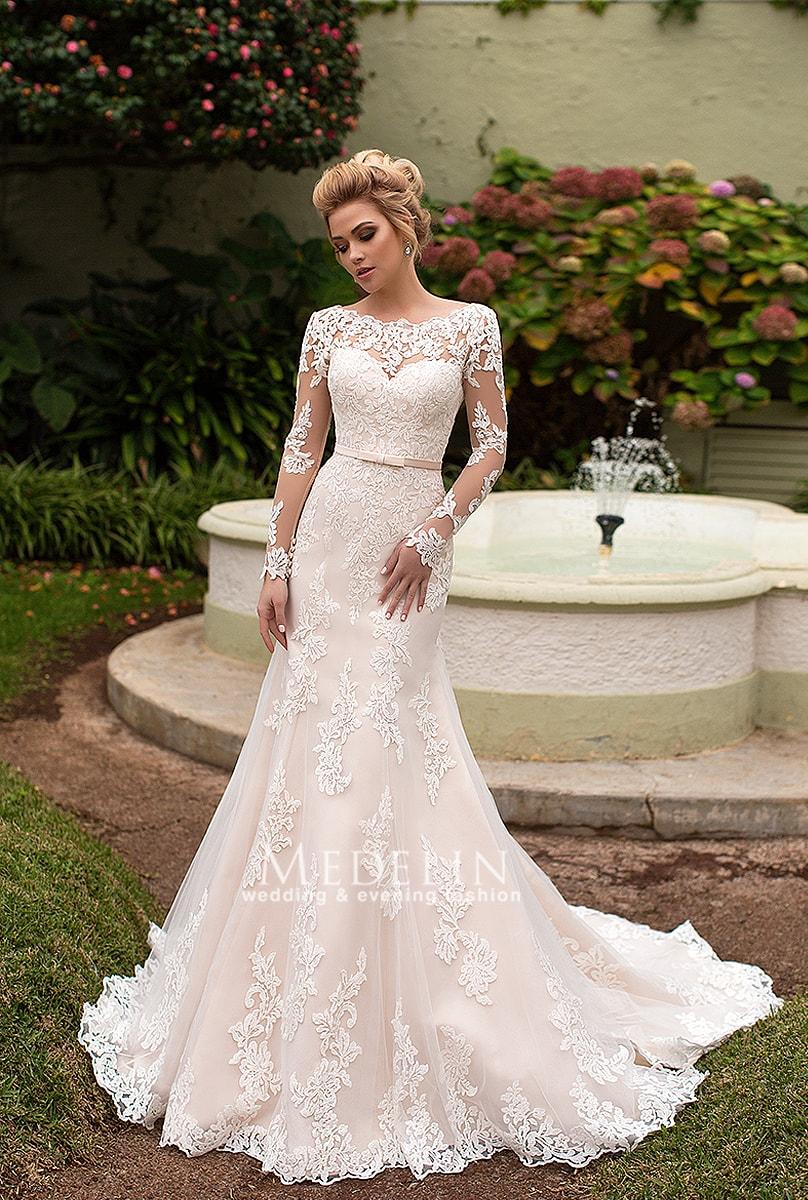 5b6eb0feaddb0bf Пудровые, розовые, цветные свадебные платья купить в Киеве